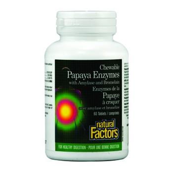 Папая ензими Natural Factors