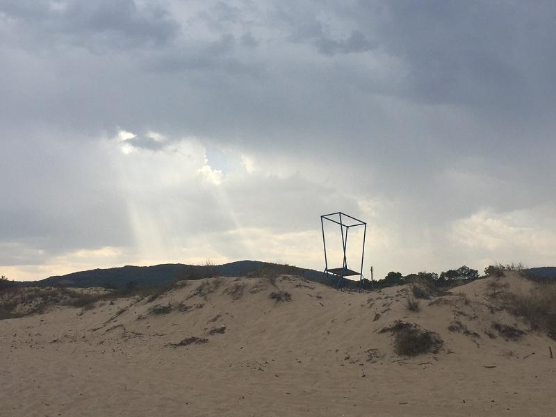 Плаж в края на лятото